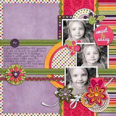 Sweet and Sassy - Scrapbook.com