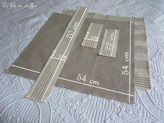 Etape 1 dimensions pièces
