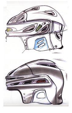 Helmet Concepts by Steve Copeland, via Behance