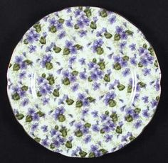 Lefton Violet Chintz at Replacements, Ltd