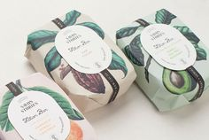 From IAMTHELAB.com Get Inspired: Beautiful Packaging from Savon Stories