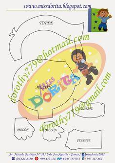 Miss Dorita: Forro de Cuaderno niño (2)