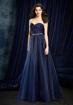 Sapphire Bridesmaids by Alfred Angelo