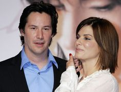 "Sandra Bullock Photos - Actress Sandra Bullock attends a press conference promoting 'The Lake House' on September 2006 in Tokyo, Japan. The film will open on September 23 in Japan. - Keanu Reeves And Sandra Bullock Promote ""The Lake House"" Keanu Reeves Sandra Bullock, Keanu Reeves Images, Laura San Giacomo, Keanu Reaves, Keanu Charles Reeves, Great Hairstyles, Hot Actors, International Film Festival, Beautiful People"