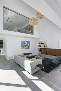 Interior design at modern house design two storey Modern House Design with Two room design decorating before and after home design room design Simple House Design, House Design Photos, Modern House Design, New Interior Design, Gray Interior, Interior Decorating, Contemporary Style Homes, Contemporary Interior, Apartment Design