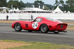 1962 Ferrari 250 GTO 4293GT at LeMans Classic 2012