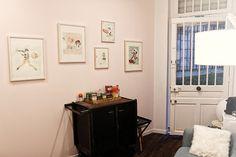 Γγρ│ Peinture rose sur les murs : Calamine de Farrow and Ball
