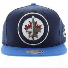 Winnipeg Jets Team Colors The XL 2 Tone SNAPBACK. New Era CapJetsSnapbackNew  ... 89a9d2dc5b08