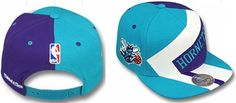 NBA Mitchell And Ness Charlotte Hornets Snapback Hats Blue/Brown 217|only US$8.90