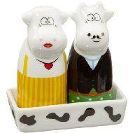 Butler Cows Salt & Pepper Shakers