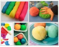 Play dough activities specifically for Autism