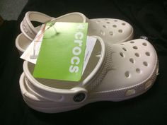 Crocs - White - Size XS - New with tags #Crocs
