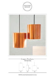 Anatomy Design | copper pendants