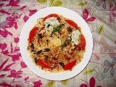 Qabooli is a famous vegetarian pulao/biryani of Chickpea (Dal Channa). Both Hyderabad Deccan and Rajasthan version of Qabooli are popular ...