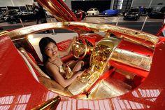 $9 Million Mercedes McLaren SLR 999 Red Gold Dream For Sale ...
