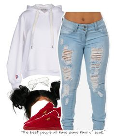 """10.22.16"" by trinityannetrinity ❤ liked on Polyvore featuring T By Alexander Wang and Puma"
