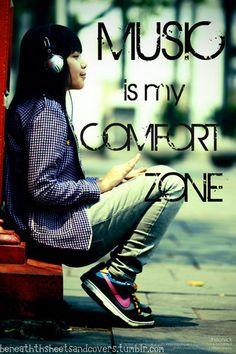 Correction, 1 of my comfort zones.