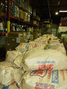 The all-American potato comes through our warehouse often.