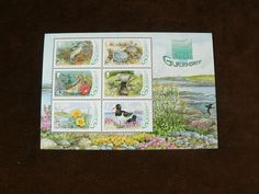 Guernsey 2006 Miniature Sheet, Ramsar Guernsey, Nature, MNH, Mint Stamps