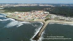 A Terceira Dimensão - Fotografia Aérea: Praia de Cortegaça