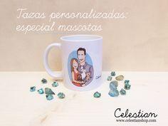 nueva coleeción personalizada especial mascotas: tazas  www.celestianshop.com