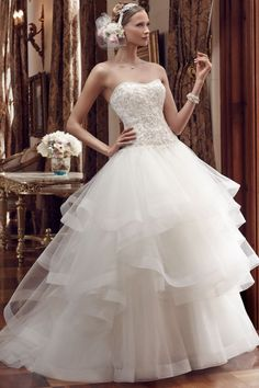 CC's Boutique offers the Casablanca Bridal wedding dress 2199 at a great price. Call today to verify our pricing and availability for the Casablanca Bridal dress 2199 Designer Wedding Gowns, Wedding Dress Trends, 2016 Wedding Dresses, Wedding Dress Styles, Gown Wedding, Wedding Designers, Dresses 2016, Dressy Dresses, Tulle Wedding