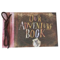 """With """"Our Adventure Book"""" you can create your own memory book like the one in PixarUpmovie. Record your adventures and love story. This is a wonderful gift -- be it for Valentine's Day, his Birthday, or just because -- for both you and your boyfriend."""