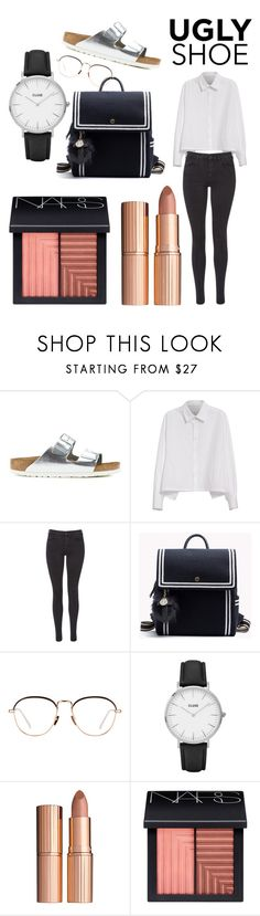 """office aprropriate"" by libil ❤ liked on Polyvore featuring Birkenstock, Y's by Yohji Yamamoto, Maison Scotch, Linda Farrow, CLUSE, Charlotte Tilbury and NARS Cosmetics"