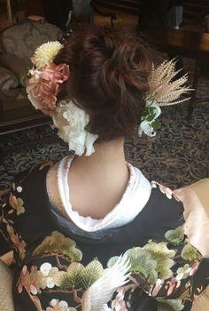 可愛い花嫁さま♡ドレスから色打掛へとチェンジの素敵ホテル婚  大人可愛いブライダルヘアメイク『tiamo』の結婚カタログ