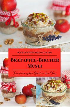 Wie wäre es mit einer neuen Inspiration zum Bircher Müsli? Jetzt im Herbst passt doch dieses Bratapfel Bircher-Müsli ganz fantastisch. Es hält sich mindestens 5-6 Tage im Kühlschrank und schmeckt dann noch genauso wie am ersten Tag. Gemischt habe ich es mit dem leckeren BASEN MÜSLI von Tartex…mit ganz viel gesundem Amaranth. #birchermüsli #müsli #frühstück -Werbung-