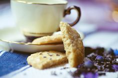 AFTERNOON TEA: EARL GREY WITH FRENCH LAVENDER SUGAR COOKIES AND EARL GREY INFUSED BISCOTTI