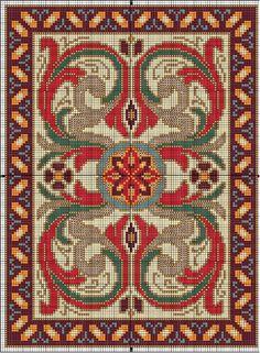 Mini rug chart