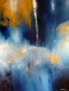 """Saatchi Online Artist: Christian Bahr; Acrylic 2013 Painting """"VALHALL IN AUTUNM"""""""