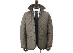 Lavenham x Edifice quilted jacket