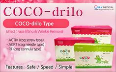 Only Medical 온리메디칼: PDO Thread lift COCO-drilo (face lift, body lift &...