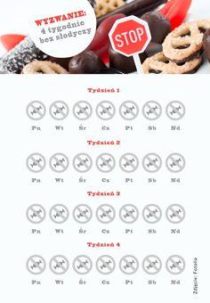 wyzwanie bez słodyczy na diecie