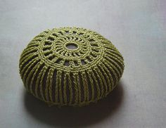 Another Crocheted Lace Stone
