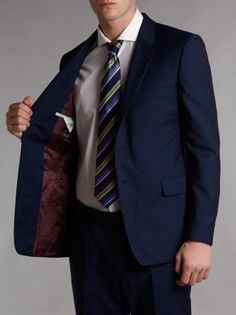 Paul Smith London Floral #mohair suit Blue - House of Fraser