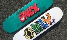 #ONLYNY Summer 2014 #Skateboards