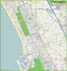 Large detailed map of Cosenza Maps Pinterest