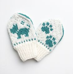 Ravelry: Terriervotten pattern by Tonje Haugli Knitting For Kids, Baby Knitting Patterns, Knitting Videos, Knitting Projects, Baby Mittens, Bindi, Little Ones, Ravelry, Knitted Hats