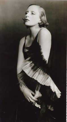 D'Ora Studio, Portrait of Tamara Lempicka in Marcel Rochas, 1929