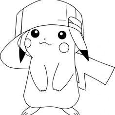 Pokemon Pikachu Coloring Pages - Harmansmm Pikachu Coloring Page, Bear Coloring Pages, Pokemon Coloring Pages, Disney Coloring Pages, Mandala Coloring Pages, Coloring Pages For Kids, Coloring Books, Pixel Pokemon, Pyssla Pokemon