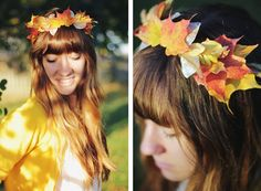 DIY Leaf Crown | The Merrythought