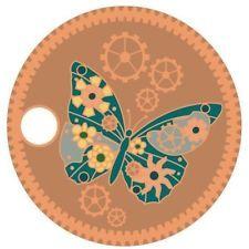 Steampunk Butterfly Pathtag Geocoin Alternative