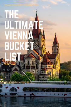 Looking for things to do in Vienna, Austria? Tap this pin for the ultimate Vienna bucket list! Cool Places To Visit, Places To Travel, Travel Destinations, Vienna Places To Visit, Time Travel, European Destination, European Travel, European Tour, Europe Bucket List