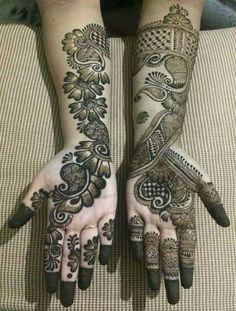 wedding decoracin wedding decoracin New Pakistani Bridal Mehndi Designs For 2019 Henna Hand Designs, Dulhan Mehndi Designs, Mehandi Designs, Mehendi, Arabian Mehndi Design, Mehndi Designs Finger, Simple Arabic Mehndi Designs, Mehndi Designs For Girls, Stylish Mehndi Designs