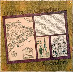 Our French Canadian Ancestors - Scrapbook.com