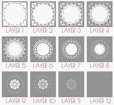 Cnc Router, Shadow Box, Cut Photo, Cricut, Laser Cut Files, Thing 1, Box Patterns, Tumbler Designs, Letter B