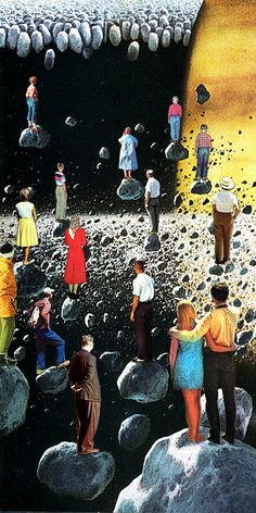 Meteor Shower Party by Eugenia Loli